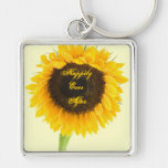 Sunflower Happily Ever After Honeymoon KeyChain