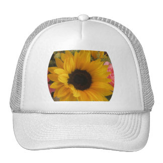 Sunflower Mesh Hat