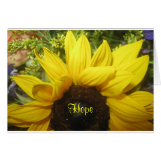 Sunflower Hope Greeting Card