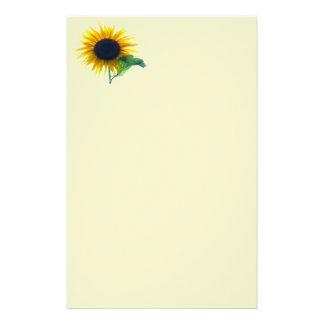 Sunflower In Full Bloom Stationery