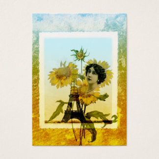 Sunflower in Paris Business Card