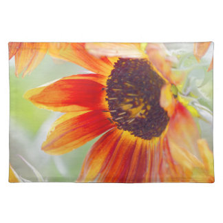 sunflower in the garden placemat