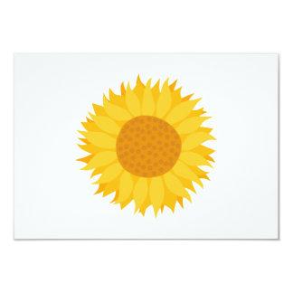 Sunflower. 3.5x5 Paper Invitation Card