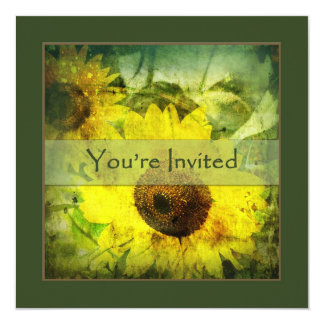 Sunflower Invitation - Make it Yours