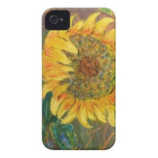 sunflower iPhone 4 case