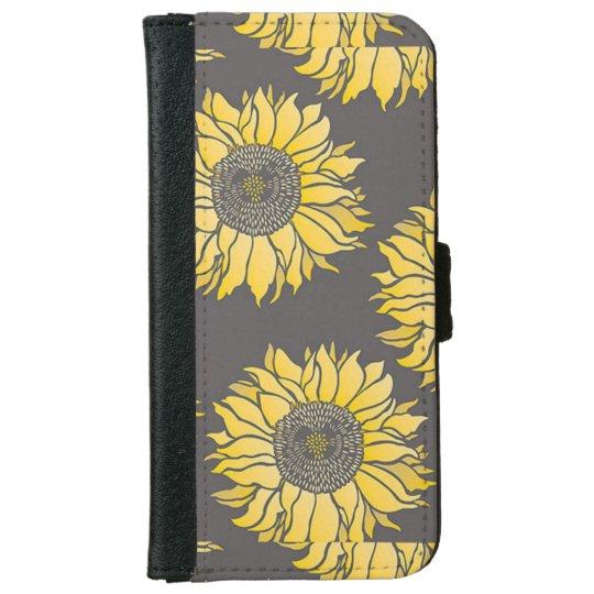 Sunflower Iphone 6/6s Wallet Case iPhone 6 Wallet Case
