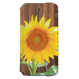 Sunflower iPhone 6 wallet case Incipio Watson™ iPhone 6 Wallet Case