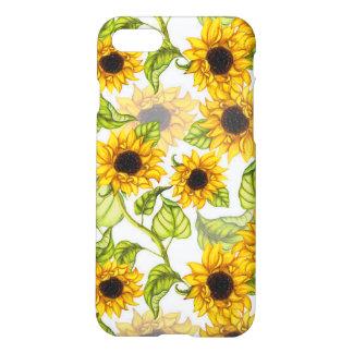 Sunflower Iphone 7 Matte Phone Case