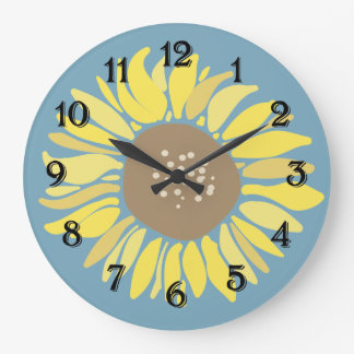 Sunflower Large Clock