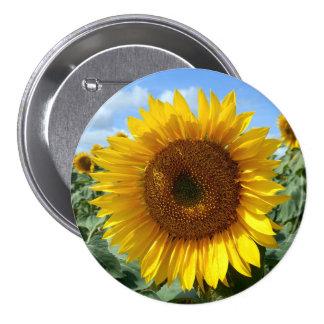 Sunflower Large Round Badge