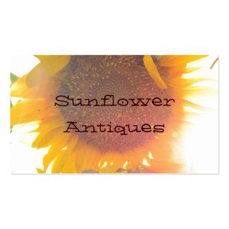 Sunflower Light Business Card Templates