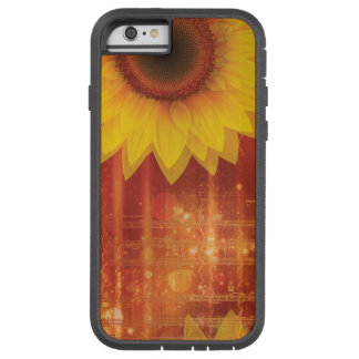 Sunflower, Love and happiness Tough Xtreme iPhone 6 Case