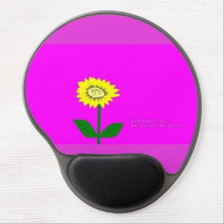 Sunflower love gel mouse mat