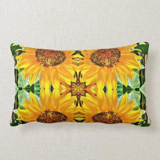 Sunflower Lumbar Pillow