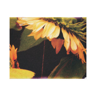 Sunflower Madonna on Wrapped Canvas Gallery Wrap Canvas