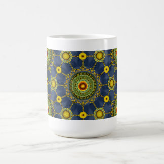 Sunflower Mandala Array Mug