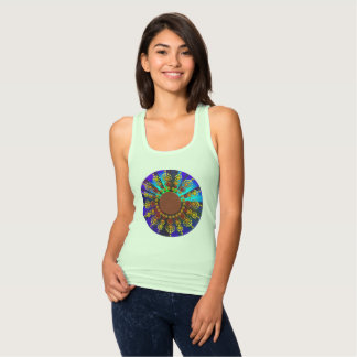 Sunflower Mandala Tank Top