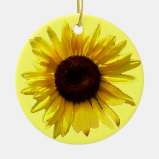 Sunflower Memorial Ornament