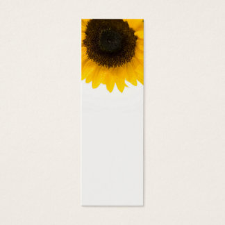 Sunflower Mini Bookmarks Mini Business Card