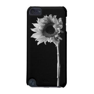 Sunflower - Monochrome Fine Art Photograph iPod Touch 5G Case