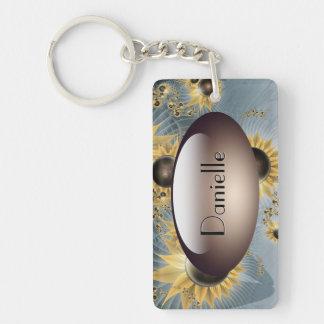 Sunflower morning Key Chain