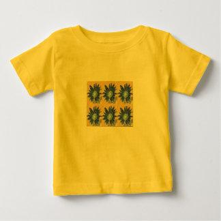 Sunflower Mosaic Baby T-Shirt