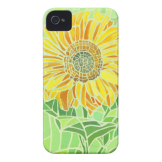 Sunflower Mosaic iPhone 4 Case-Mate ID iPhone 4 Covers
