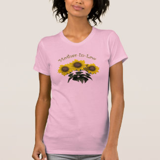 Sunflower Mother-In-Law Mothers Day Gifts T-Shirt