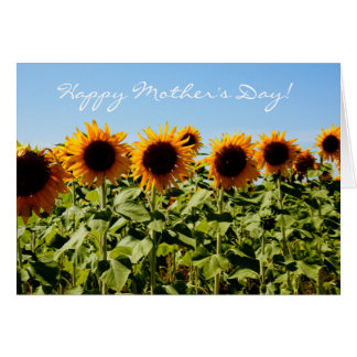 Sunflower Mother's Day Bible Quote Christian Greeting Card