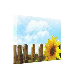 Sunflower Nature Beauty Canvas Print