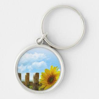 Sunflower Nature Beauty Keychains