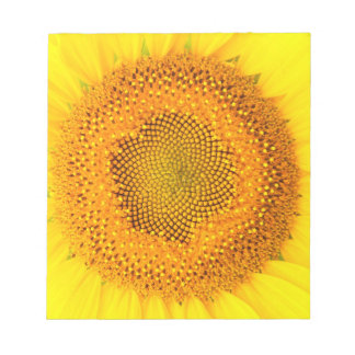 Sunflower Notepad  (select size)