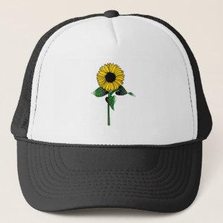 SunFlower on Trucker Hat