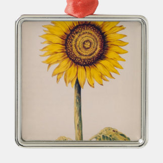 Sunflower or Helianthus Christmas Ornament