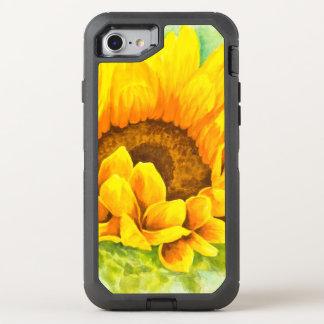 Sunflower OtterBox Defender iPhone 8/7 Case