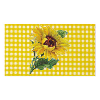 Sunflower Pack Of Standard Business Cards