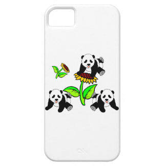 Sunflower Pandas iPhone 5 Cover