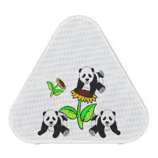 Sunflower Pandas Bluetooth Speaker