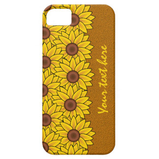 Sunflower Pattern iPhone 5 Case-Mate
