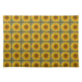 Sunflower Pattern Placemat