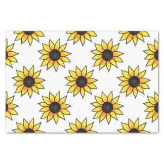 Sunflower Pattern Tissue Paper
