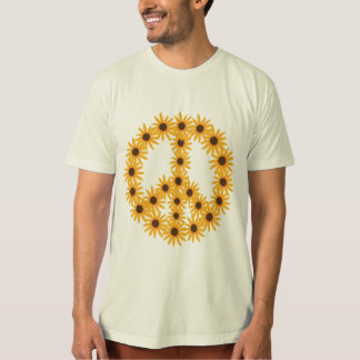 Sunflower Peace Sign shirts