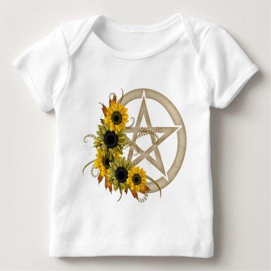 Sunflower Pentagram Baby T-Shirt