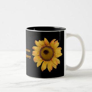 Sunflower Personalized Coffee Mug