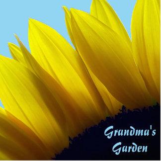 Sunflower Personalized Garden Sign Photo Sculpture Decoration