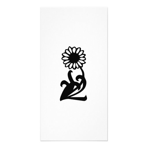 Sunflower Photo Card Template