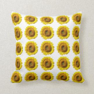 Sunflower Pillow - Customizable Pattern Print