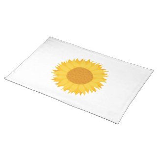 Sunflower. Placemat