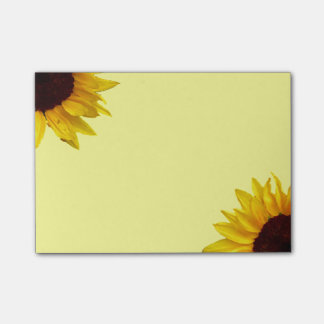 Sunflower Post-it Notes