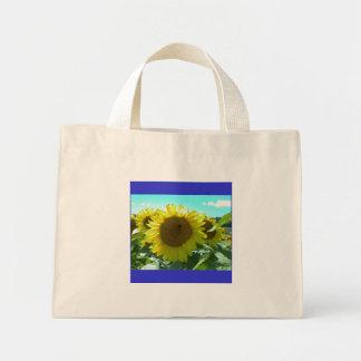 Sunflower Power--Tote Mini Tote Bag